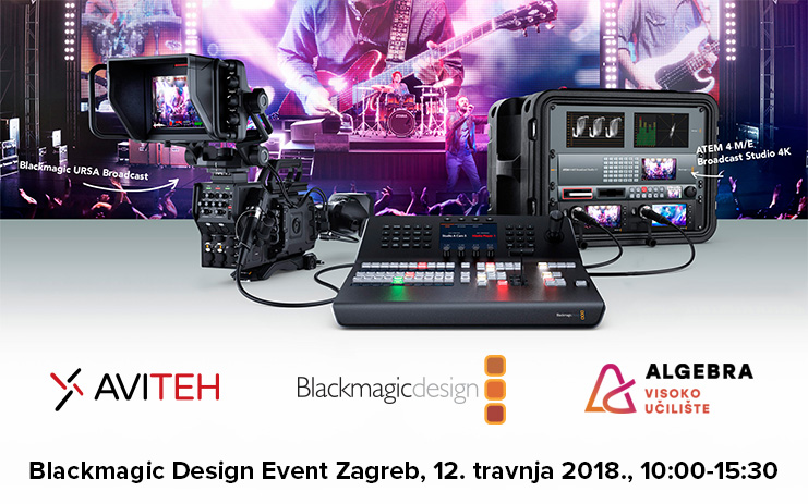 Blackmagic Design event u Algebri